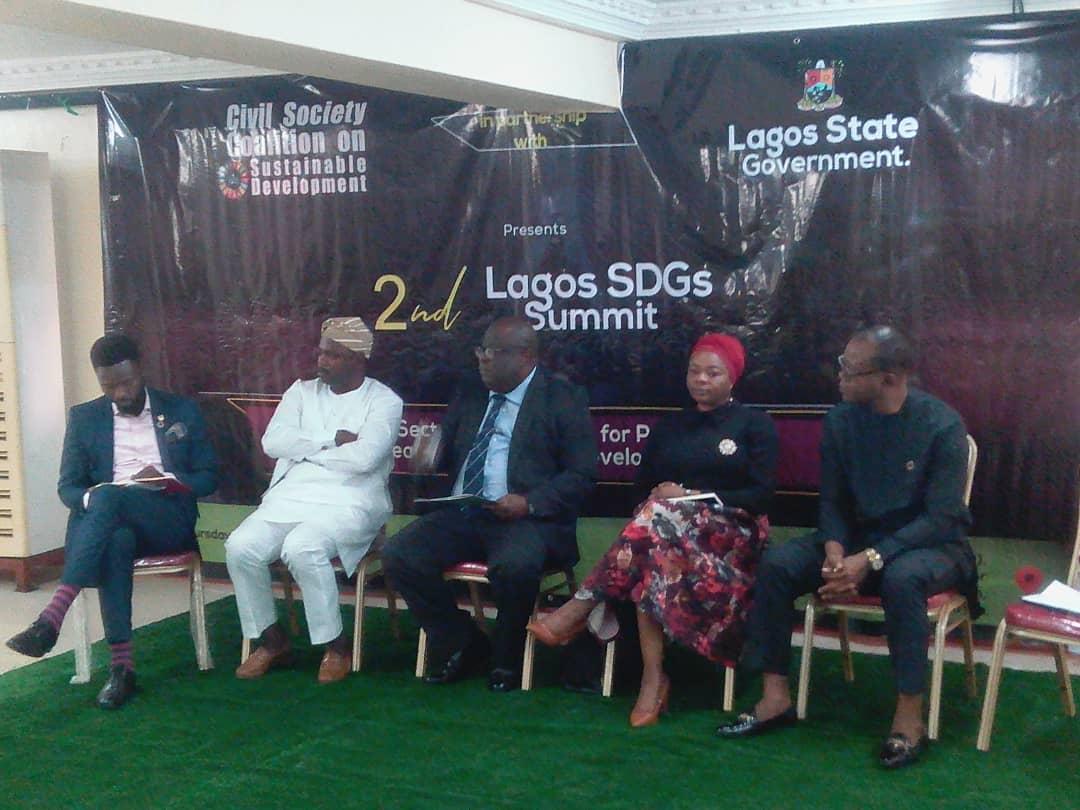 L-R: Oluseyi Ojurongbe, Oluseyi Oyebisi, Hon. Olusegun Banjo and Dr. Paul Abolo
