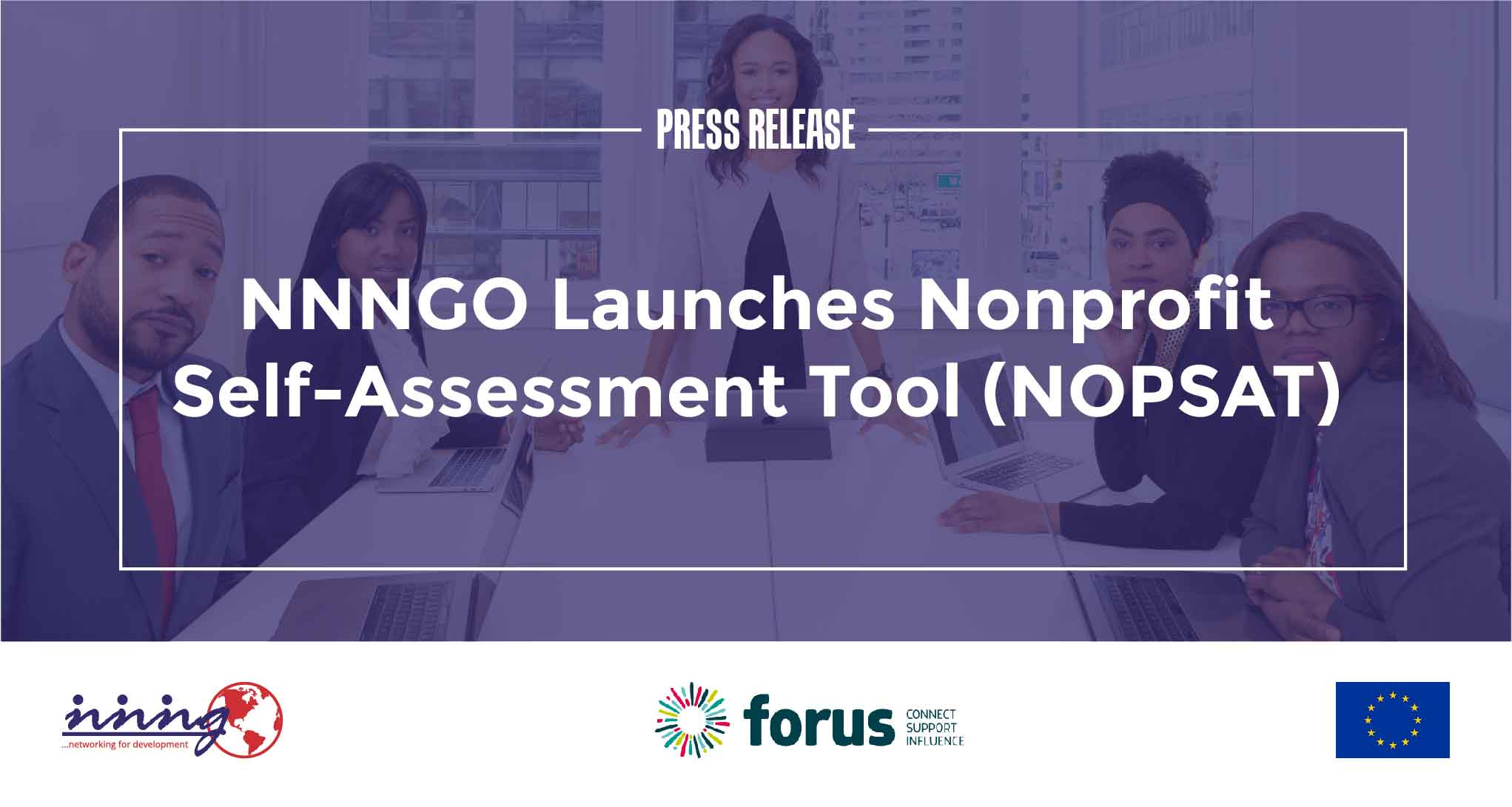 PRESS RELEASE – NNNGO Launches Nonprofit Self-Assessment Tool (NOPSAT)