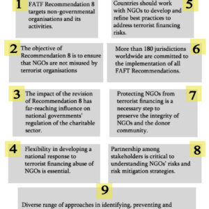 9 faccts on recommendation 8 and NGOs